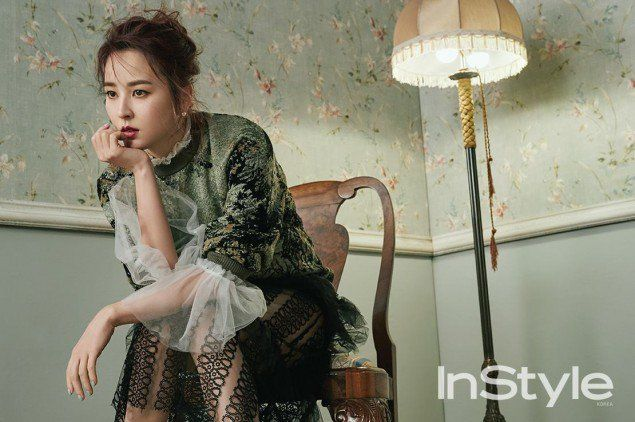Han Hye Jin Poses for InStyle Magazine | Koogle TV