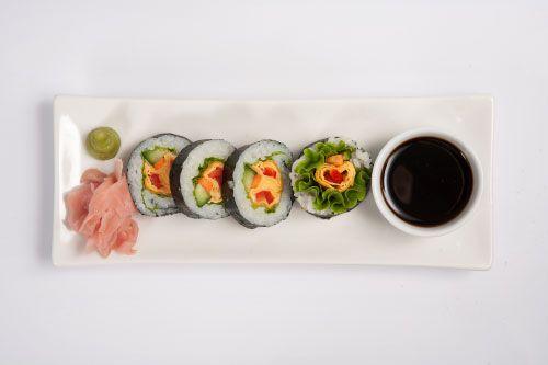 ένα ξεχωριστό sushi γεύμα