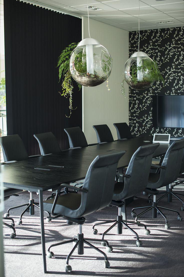 Partner conference chair, design: Jacob Zeilon   Angle conference table, design: Thomas Bernstrand & Lars Pettersson