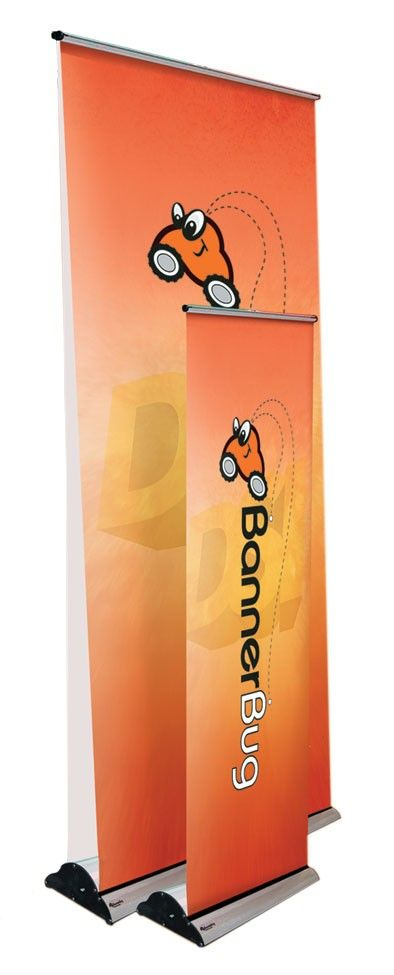 Bannerstands - a display solution for portable exhibiting in any environment. Available in a range of widths and heights to suit your custom graphic needs.