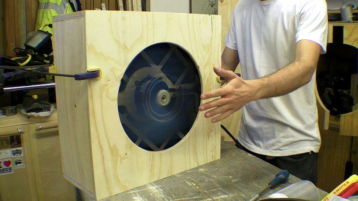 Workshop Pleated Dust Filter / Activated Carbon VOC Scrubber Test