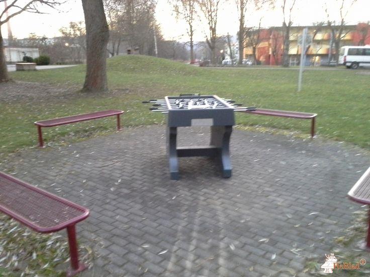 Tafelvoetbaltafel van beton Antraciet bij Diako Kinder-und Jugendhilfe gem.GmbH in Eisenach