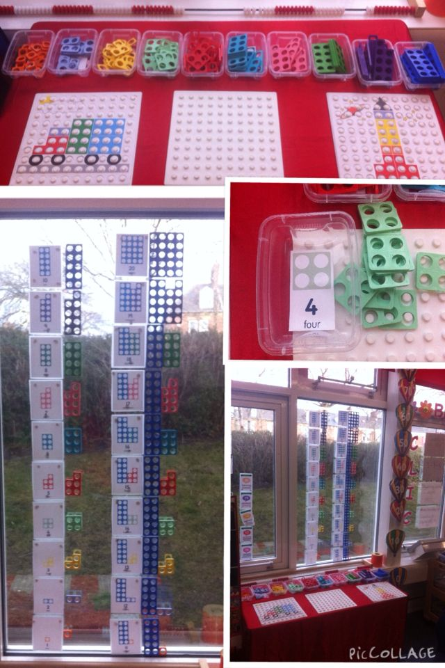 My new numicon display!