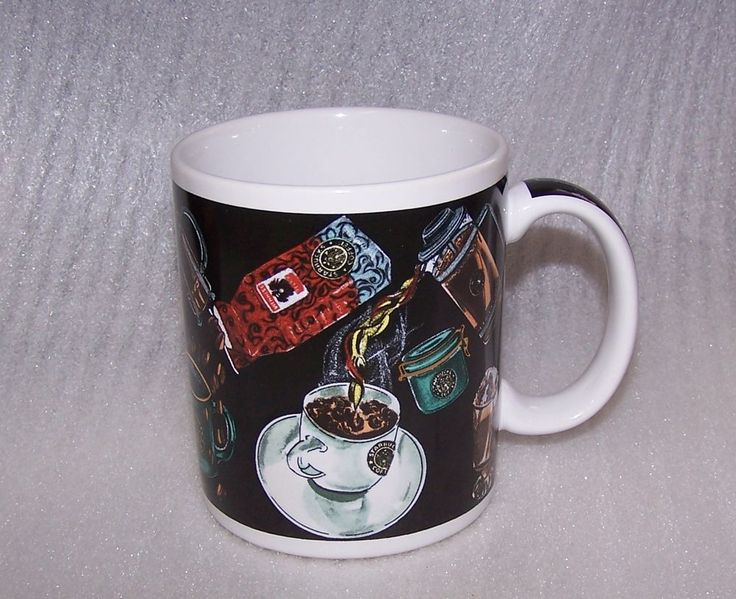 Starbucks Mug Coffee Themed Latte Sugar Cubes Spoon Espresso Machine Beans Cup  #StarbucksCoffeeCo