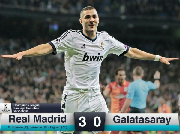 Real Madrid vs Galatasaray | Final Result