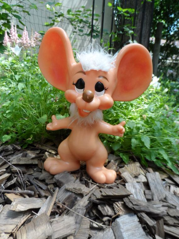 Vintage Topo Gigio Troll Bank by Royalty Industries by Andie83, $15.00