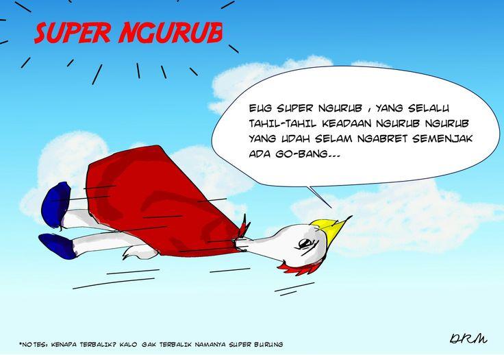 Super Ngurub #comicstrip #comic #drm #artwork #digitaldrawing #story #fable #l