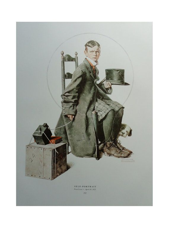 Norman Rockwell Poster Crossword Puzzle And by KingPaper on Etsy