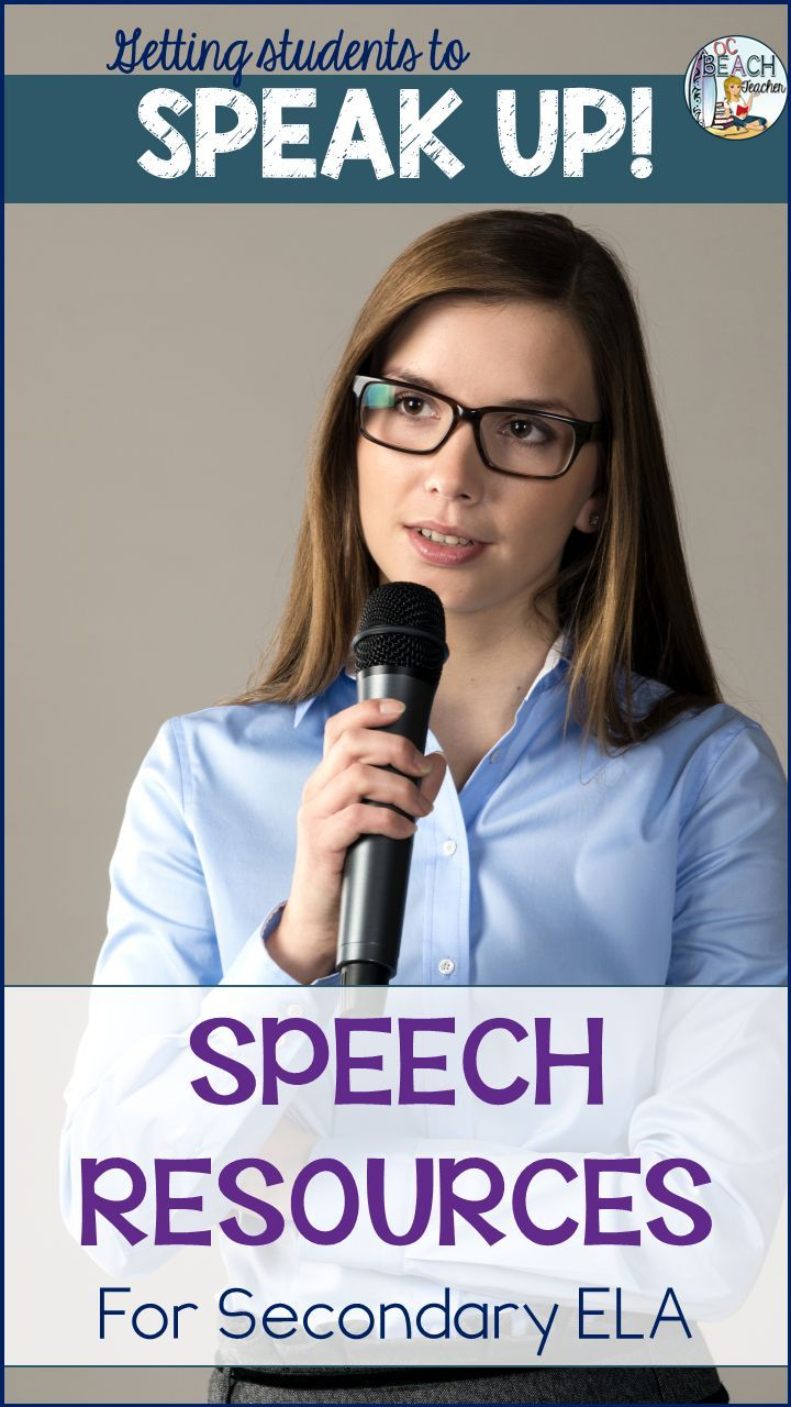 Get students to speak up about issues that matter to them with resources that improve their oral communication and analysis skills. Reading, writing, and presenting #speeches #hsenglish