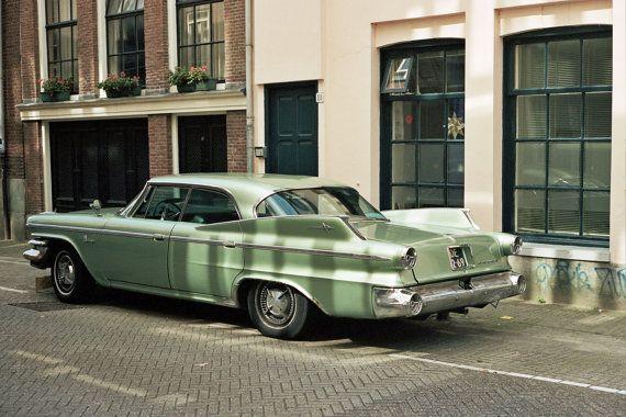 Amsterdam Street Photography Vintage Dodge Car by OhSomedayPrints, £10.00