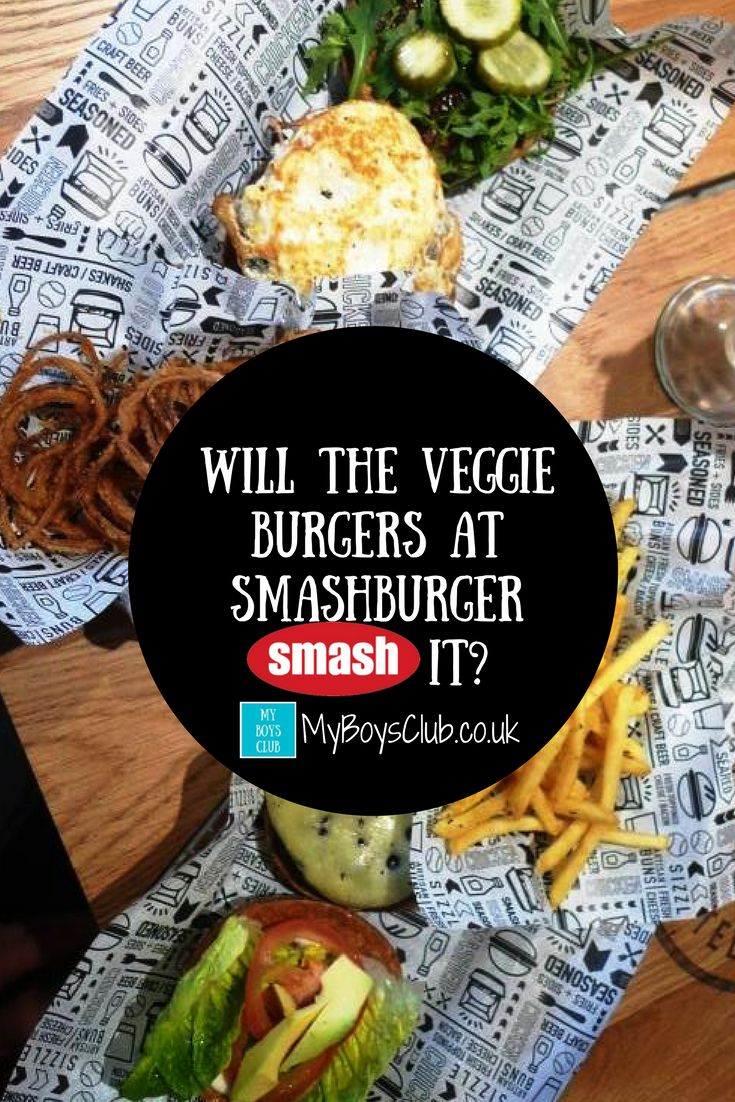 There are not one, but two standard veggie burgers (plus other vegetarian variations) on the menu at Smashburger UK in intu Eldon Square in Newcastle. But how do they taste?
