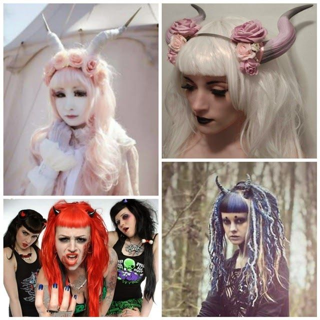 .Moda Alternativa - Moda de Subculturas.: Chifes na Moda: da História à Moda Alternativa