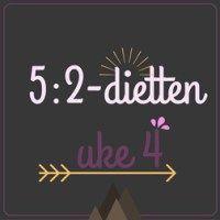 Forslag til 5:2-diett dagsmeny for 2 av ukens dager, uke 4 – 2016