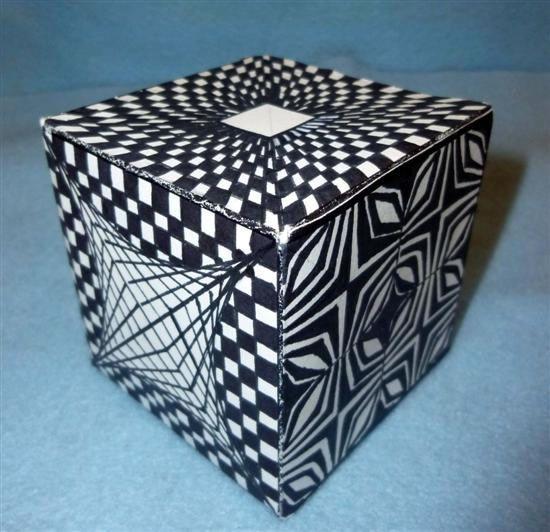 Op Art Cubes