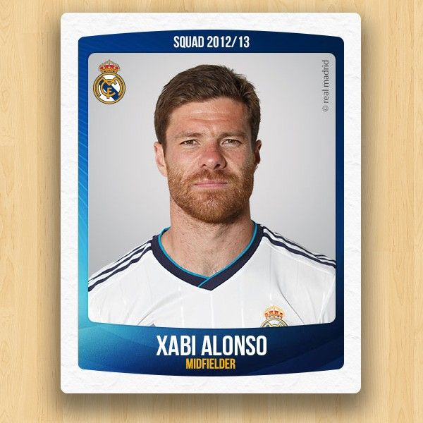 Real Madrid Collections - Xabi Alonso Olano