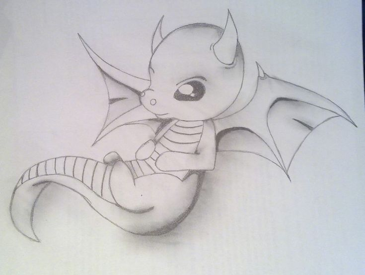 Cute Drawings Of Baby Dragons Galleryhipcom The