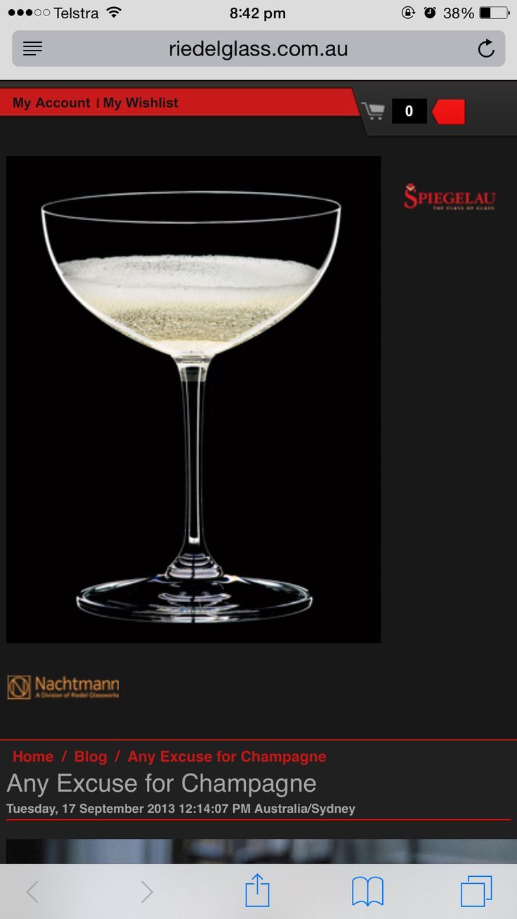 Love Champagne Coup Glasses