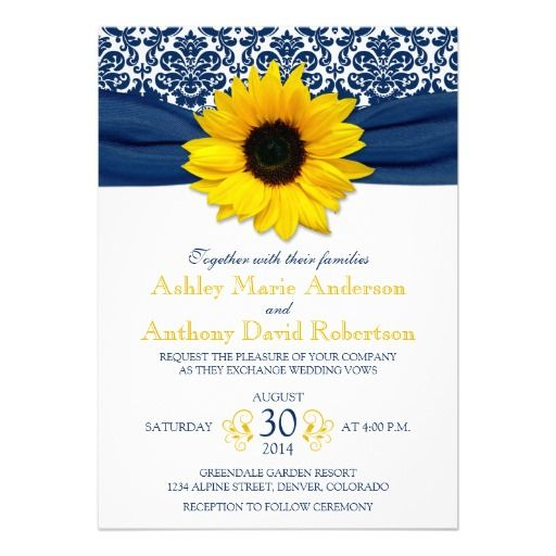 Best 25 Ribbon wedding ideas – Sunflower Wedding Invitations Kits