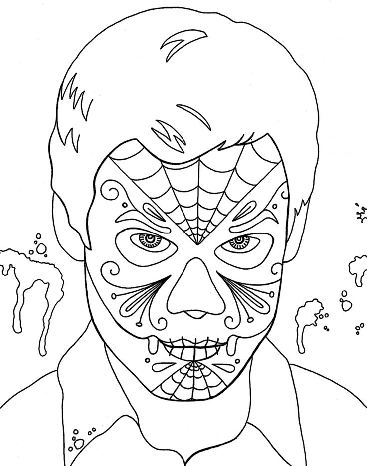 104 best Dia de los Muertos images on Pinterest Skeletons Sugar