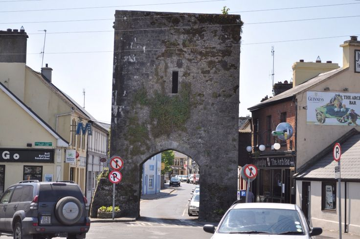 The gates to athenry