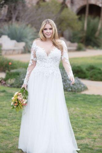 Vestido de Noiva Plus Size: todas as dicas para escolher o seu! (2019)