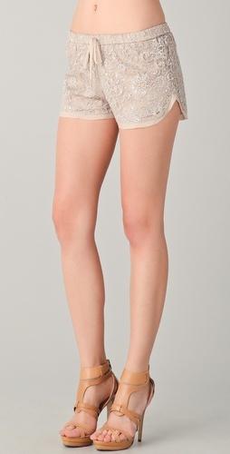 Haute Hippie Lace Shorts <3 <3 <3