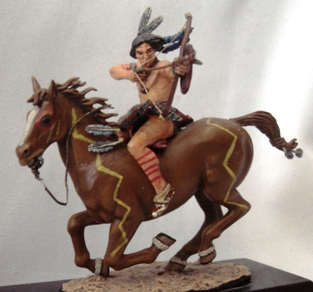 David y el Modelismo. Guerrero Indio.  .DvDv. 2002