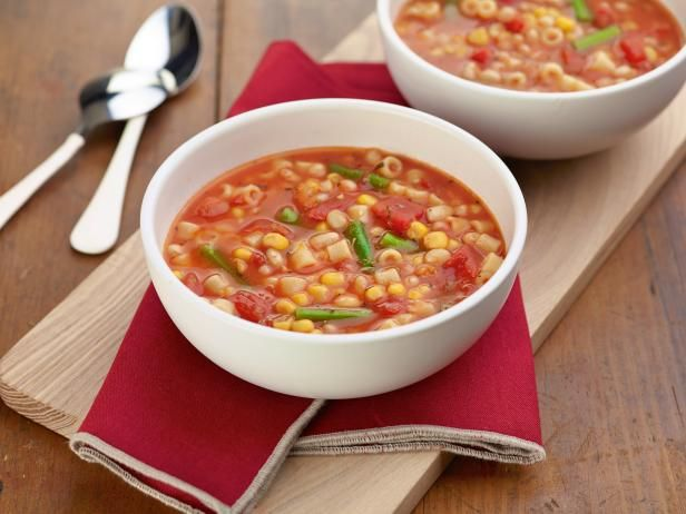 Get Quick and Easy Minestrone Recipe from Food Network