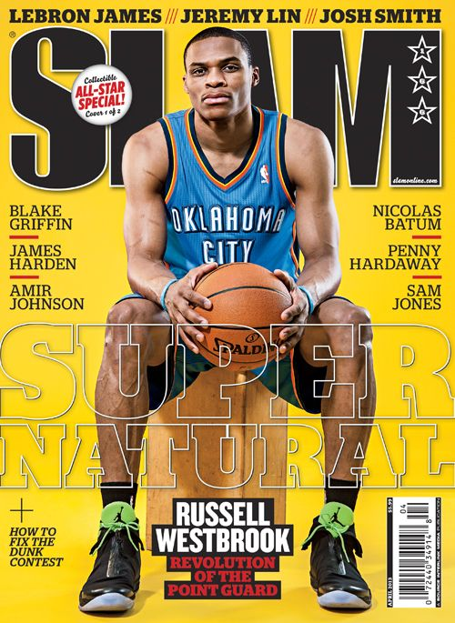SLAM 166: Oklahoma City Thunder Russell Westbrook appeared ...