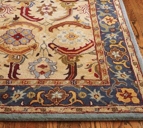 Eva Persian Style Tufted Wool Rug 10x14 Persian