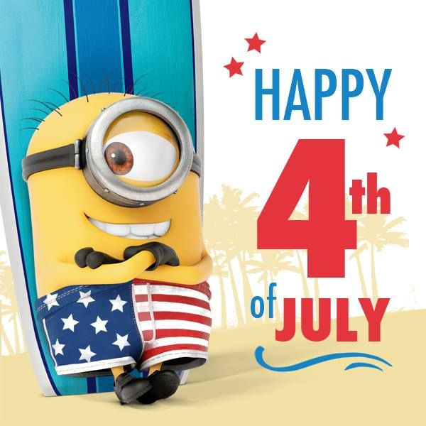 4th of july minions wallpaper - photo #1