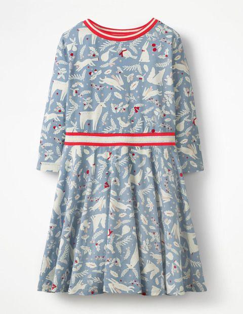 b29578321 Printed Jersey Ballerina Dress