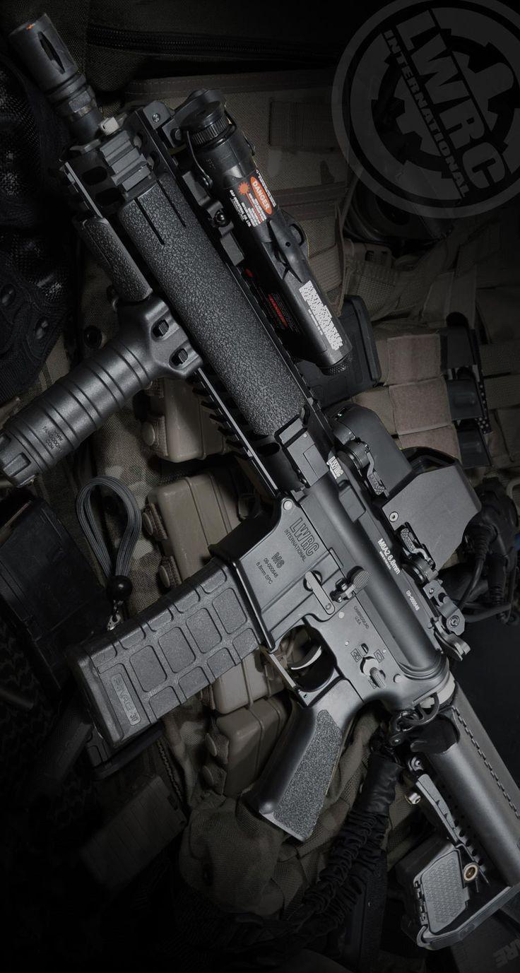 Leader End Penembak Jitu Senjata Militer Militer