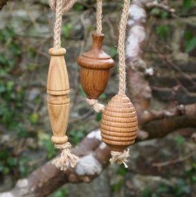 Oiled Oak Light Pulls