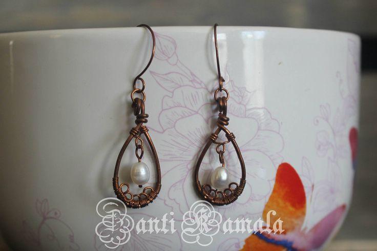 Fun earrings/fun jewelry/colorful earrings/cute earrings/unique earrings/funky earrings/geometric earrings/heart/gift for her by ZantiKamala on Etsy