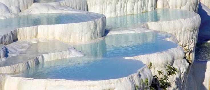Cascate pietrificate Pamukkale - Turchia