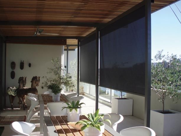 9 best outdoor patio shades images on pinterest outdoor for Motorized shades los angeles