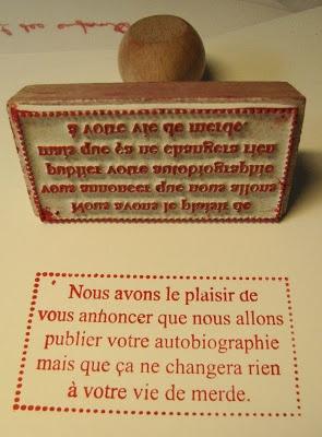 Le Tampographe Sardon: Tampons pour éditeurs.