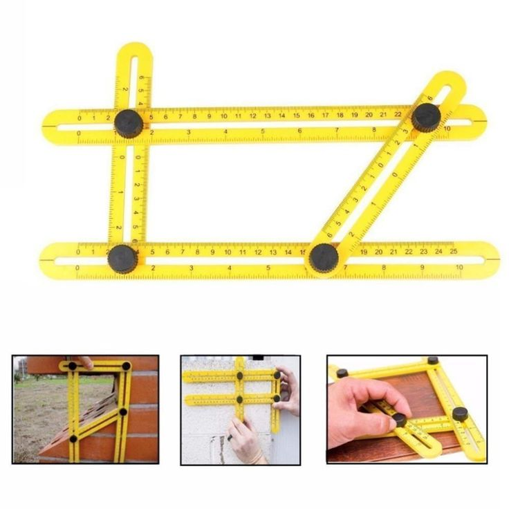 Now selling: Angle-izer Template Tool Four-sided Measuring Tool Angle Finder Protractor Multi-Angle Ruler Layout Tool Angle Ruler http://articulanthome.com/products/angle-izer-template-tool-four-sided-measuring-tool-angle-finder-protractor-multi-angle-ruler-layout-tool-angle-ruler?utm_campaign=crowdfire&utm_content=crowdfire&utm_medium=social&utm_source=pinterest