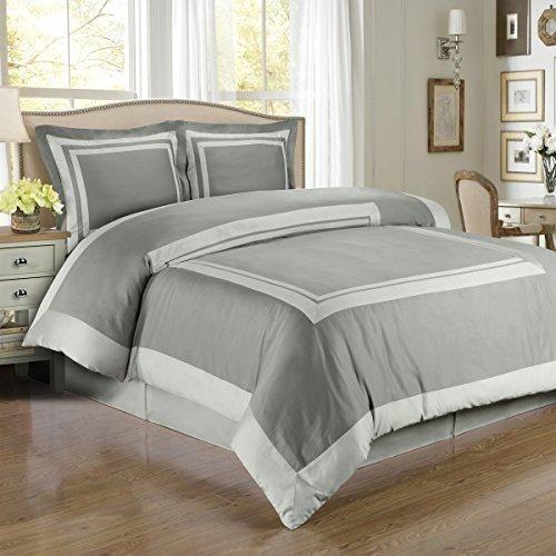 deluxe deluxe reversible hotel duvet cover set 100 egyptian cotton 300 thread count bedding woven