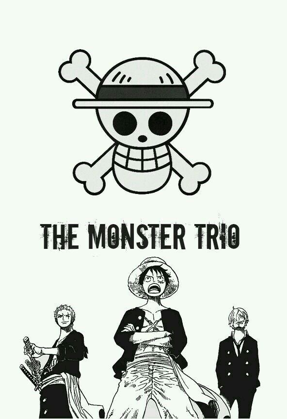 Trio Monstruo One piece