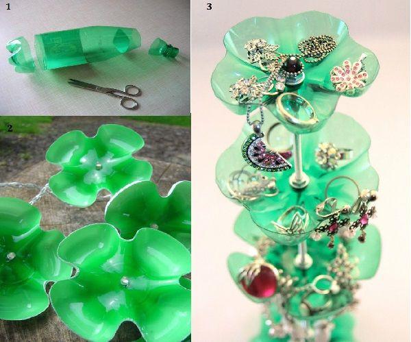 Using Some Plastic Bottle Decoration Ideas - http://www.amazinginteriordesign.com/using-some-plastic-bottle-decoration-ideas/