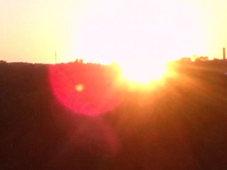 #hitmelikearayoflight  #sunset #FrankfurtOder