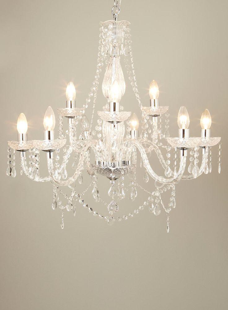 Bedroom Ceiling Lights Bhs : Bryony light chandelier ceiling lights lighting