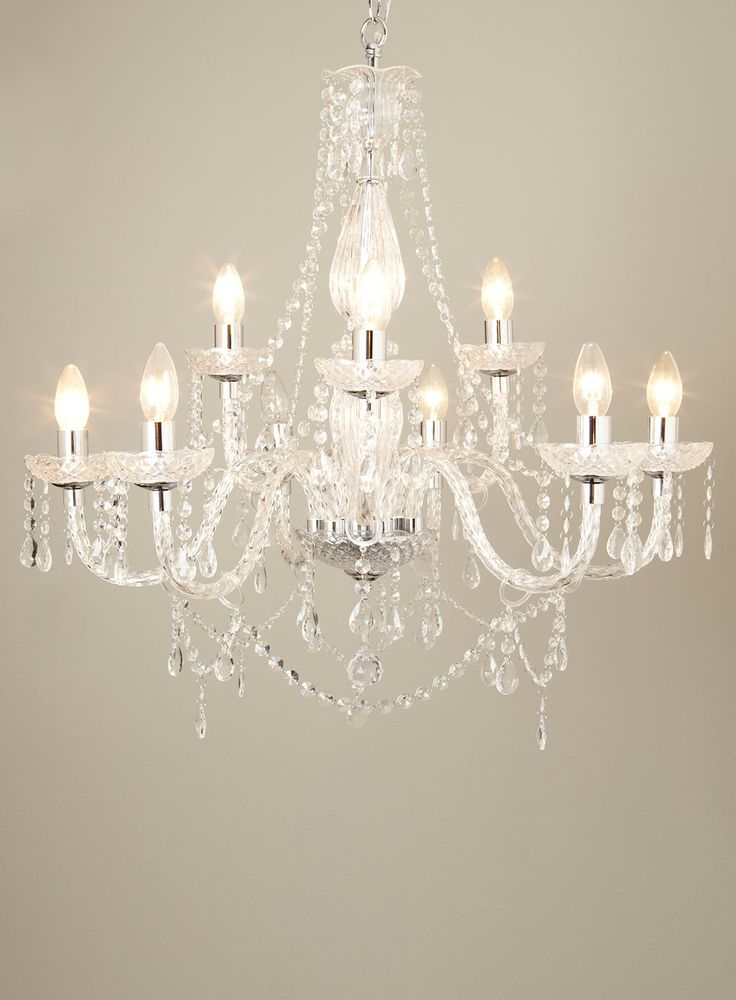 Bedroom Ceiling Lights Bhs : Bryony light chandelier ceiling lights lighting