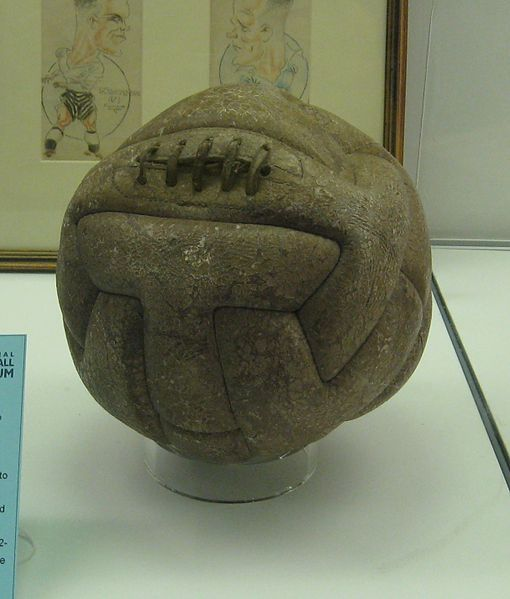 1930 World Cup Final Ball Uruguay. 30 July 1930 – In Montevideo, Uruguay wins the first FIFA World Cup.