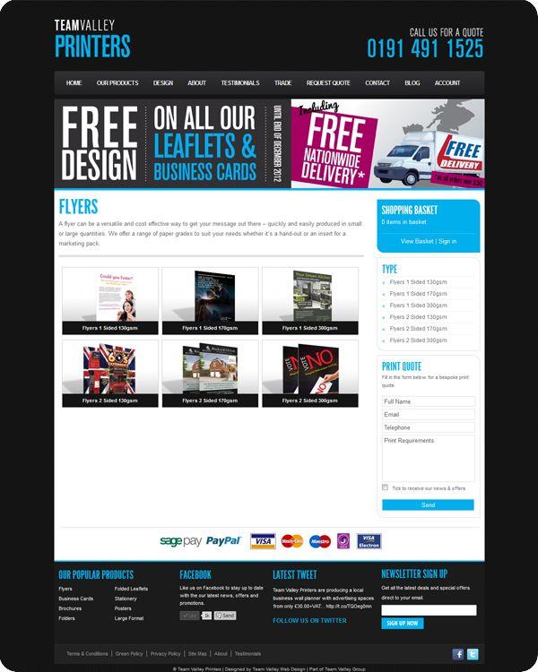 Inspiring E-commerce Website