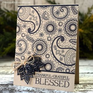 Constantly Stamping: Artisan Design Team Blog Hop...Paisleys & Posies