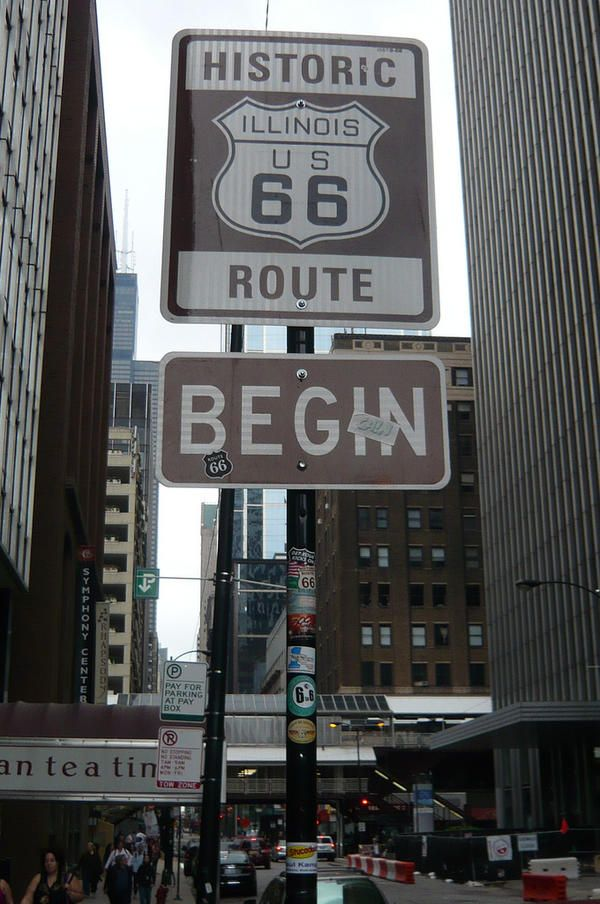 Route 66, Chicago where it all begins. Read more at Route 66 road trip guide