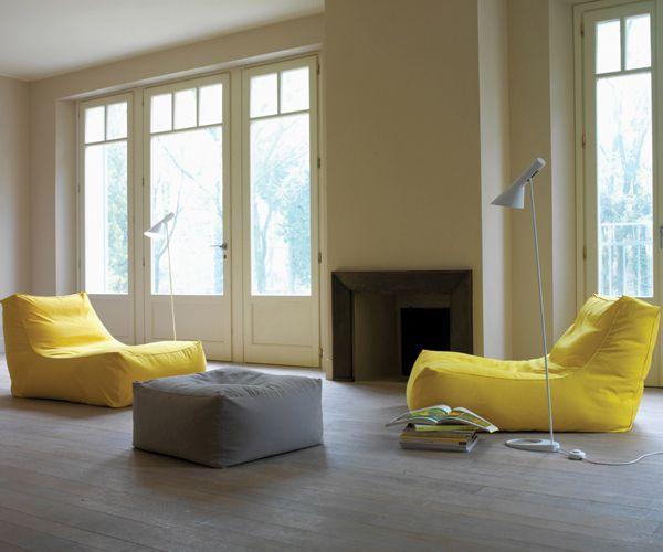 Armchair and pouf (ottoman?)